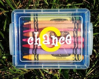 Personalized Crayon Box