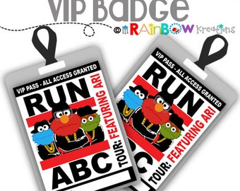 VIP-776: DIY - Run ABC Vip Badge