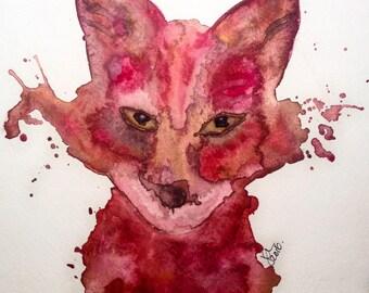 Soulful Fox Fine Art Print