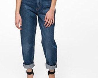 Denim Vintage Mom Jeans/mom jeans/high waisted jeans/levis lee wrangler/all sizes