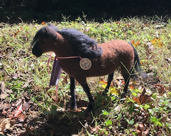 Horse, Needle Felted, OOAK, Original