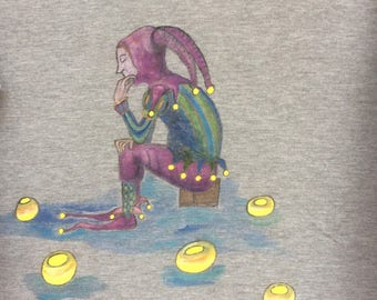 """Dreams of a summer night"" t-shirt, size L"