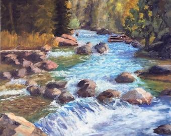 Tumwater Stream