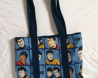Star Trek Original Series Characters Tote Bag