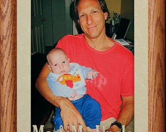 5x7 JUMBO ~ Me & MY UNCLE Photo Frame ~ Holds a 5x7 Photo ~ Christmas, Birthday ~ Gift for a Favorite Uncle from a Niece or Nephew