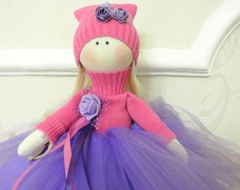 doll, rag doll, handmade doll, doll Tilda