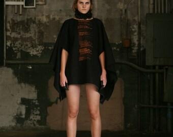 No. 114 Black Silk Choker, Neck Ruff , Fashion Accessories, fashion trends, Black Silk Choker Ruff