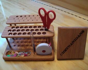 """SlimLine """"Elite"""" Crochet Hook Organizer Workstation From Chetnanigans"""