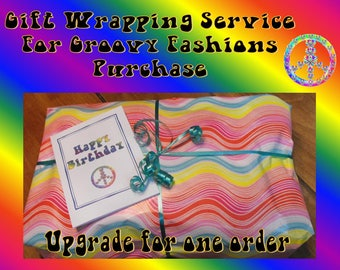 Gift Wrapping Service for Groovy Fashions Purchases  For ONE Purchase