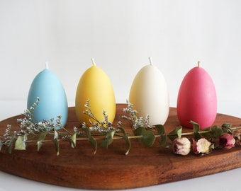 Easter candle #Easter egg / Unscented Soy Pillar Candle