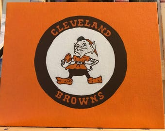 Cleveland Browns Football Brownie Mascot