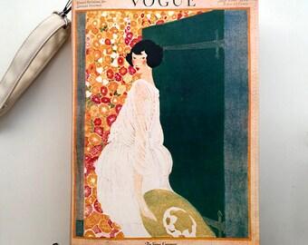 Vintage Vogue Magazine Book Purse Vogue Magazine Bag