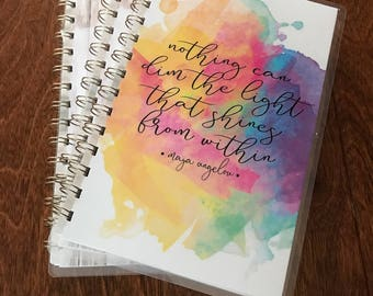 Mini Life of Grace Healthy Life Journal | The light from within