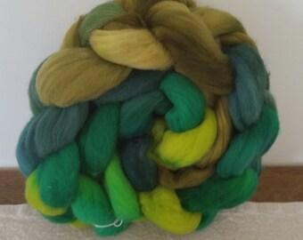Wool Roving- It's Green