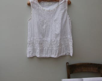 Somewhen Else, clothing of another time, place. Cotton, linen, lace, shabby chic, romantic, Edwardian, original, handmade.
