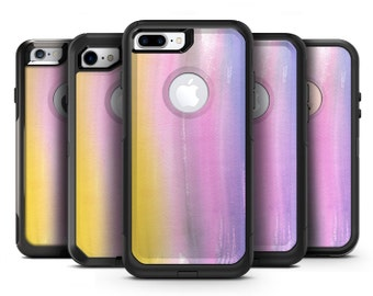 Lined 443 Absorbed Watercolor Texture - OtterBox Case Skin-Kit for the iPhone, Galaxy & More