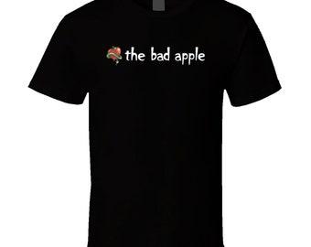 The Bad Apple Burger Food Fan T Shirt