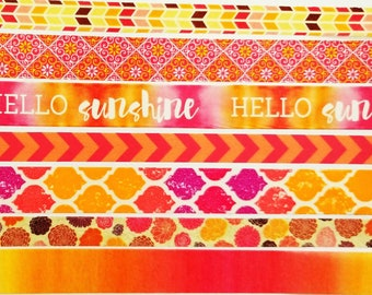 Summer Brights Washi Sample Collection