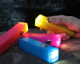 3D Printed Rechargeable LED Flashlight