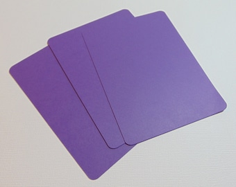 3x4 Rectangle Die Cuts Set of 40