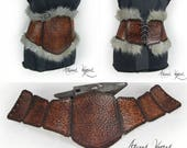 Tribal armor female belt ...