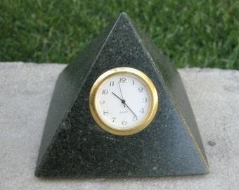 The Pyramid Desk Clock