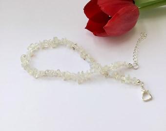 opalite anklet,ankle bracelets,opalite,opalite earrings,white anklet,white ankle bracelet,opalite jewellery,adjustable anklet,foot bracelet
