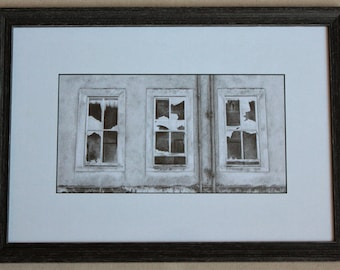 The East Wing - original pencil drawing