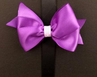 Classic Purple Bow