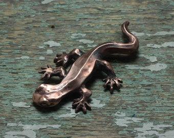 Little Newt brooch