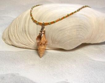 Seashell Jewelry – Beach Jewelry – Beach Necklace –  Shell Jewelry – Sea Shell Necklace – Beach Vacation - Spring Break - Seashell Pendant