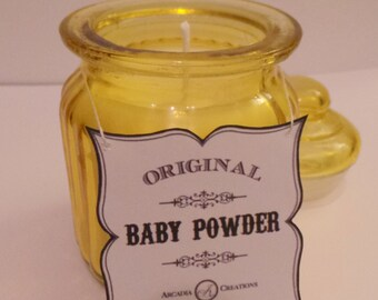 Baby Powder Scented Candle.