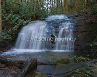 Long Creek Falls - Appalachian Trail - Framed Photography