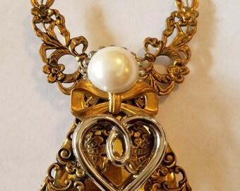 Vintage Jane Angel Pin,  Christmas Angel Pin, Jane Pin