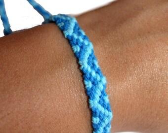 """Friendship Bracelet model """"Oceania"""", unisex"""