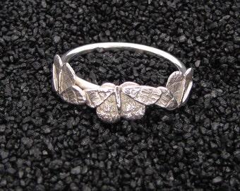 Trio of Moths Ring