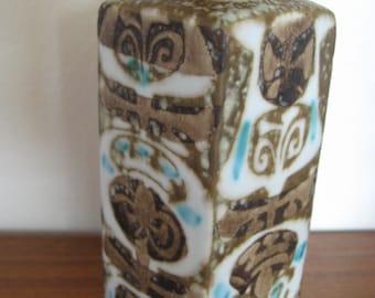 Baca, Royal Copenhagen, Aluminia Faience, Fajans, Nils Thorsson vase, small