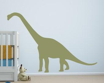 Large dinosaur wall decal, dinosaur wall art, dinosaur wall decor, dinosaur decals, dinosaur stickers, boys room decor D00373.