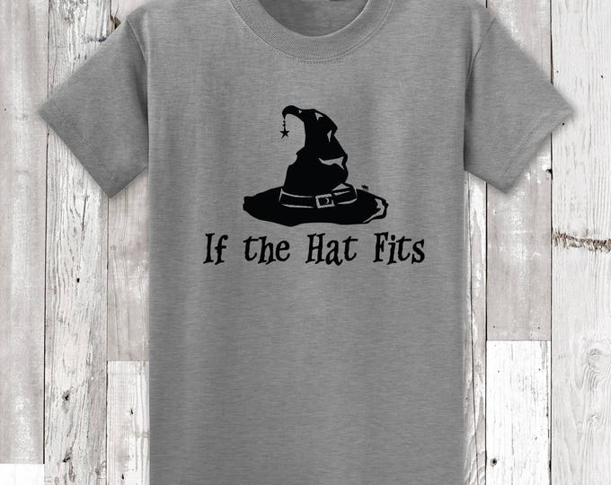I the Hat Fits Halloween Witch T-Shirt