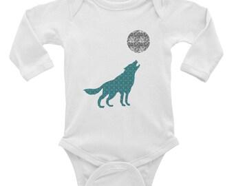 Howl at the Moon - Infant Long Sleeve Bodysuit