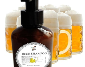 The Wheat Beer Shampoo. Natural. Organic. Virgin. Best for Oily Hair.
