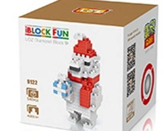 Christmas brick puzzle 140 pieces