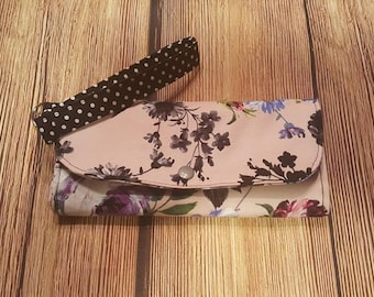 Women's Fabric Wallet, Cash envelope Wallet, can be used with Dave Ramsey System