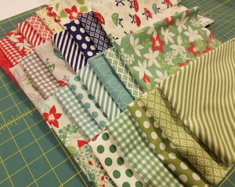 Bonnie and Camille APRIL SHOWERS 27 Fat Quarter Fabric Bundle