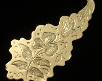 Antique Gold Filled Pin