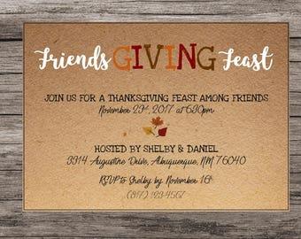 friendsgiving invite