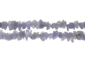 Chalcedony blue x 25 chips