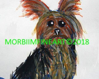 Yorkie by Esahn Dulin