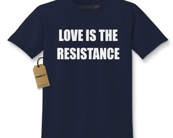 Love Is The Resistance Kids T-shirt