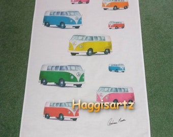 Campervan Tea Towel